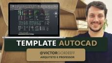 Template de AutoCAD Gordeeff Arquitetura | Arquivo pronto para download